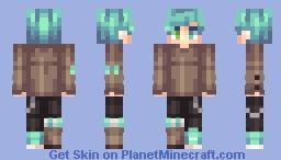 toxic genderbend × oblivion fanskin Minecraft Skin