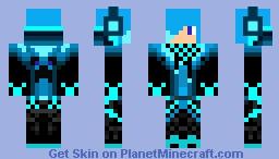 Blue Boy Minecraft Skin