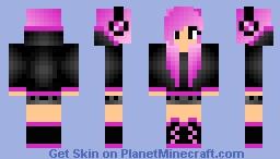 Pink Girl Minecraft Skin