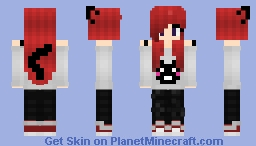 Cat fan Minecraft Skin