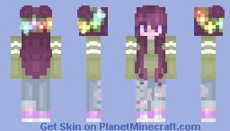 First Skin! | PixelPixelz Minecraft Skin