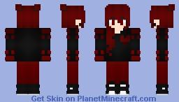 Black Heart Minecraft Skin