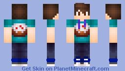 cake boy Minecraft Skin