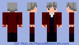 The Twelfth Doctor (For This Year On Earth Skin Contest) Minecraft Skin