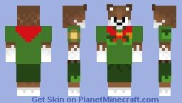 Rangerscout rex Minecraft Skin