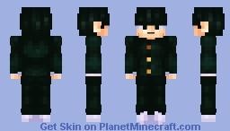 Shigeo Kageyama - Mob Psycho 100 Minecraft Skin