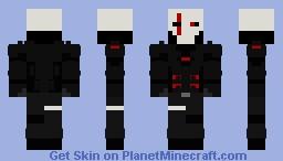 Dreadnought in Shinobi Armor (with helmet) Minecraft Skin