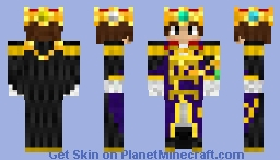 Emperor everyday clothes Minecraft Skin