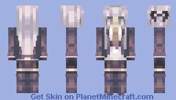 kyouko kirigiri // dangling grandpa Minecraft Skin