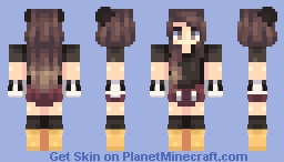 Mickey Mouse Girl Minecraft
