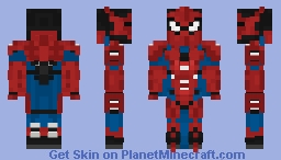 Armored Spiderman Minecraft