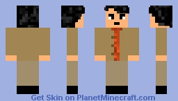 Carl Sagan Minecraft Skin