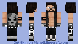 AJ Styles Bullet Club Minecraft Skin