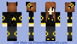 Umbreon Girl Minecraft Skin