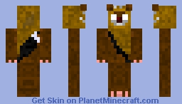 Ewok Herobrine Minecraft Skin