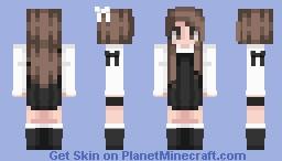 Little Black Dress ♥ New shading Minecraft Skin