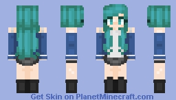 Cinnamon~ New hair shading? ~Oc~ Minecraft Skin