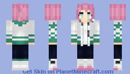 Fight me Minecraft Skin