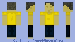 Yellow Shirt Guy [ i58 ] Minecraft Skin