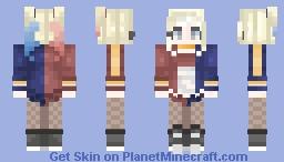 """""""𝓦𝓮'𝓻𝓮 𝓫𝓪𝓭 𝓰𝓾𝔂𝓼. 𝓘𝓽𝓼 𝔀𝓱𝓪𝓽 𝔀𝓮 𝓭𝓸!"""" Minecraft Skin"""