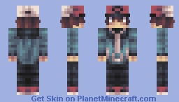 Hilbert- PokemonBlack and White Minecraft Skin