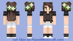 random * lizabearcx Minecraft Skin