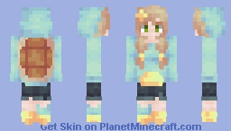 But every story I have told is part of me ♫ {Squirtle Hoodie!} Minecraft Skin