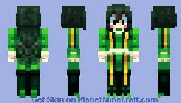 Tsuyu Asui [Hero Academia] Minecraft Skin