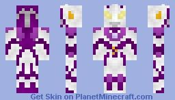 Ultraman Legend (Ultraman Cosmos + Ultraman Justice) [Ultraman Cosmos Vs Ultraman Justice: The Final Battle] Minecraft Skin