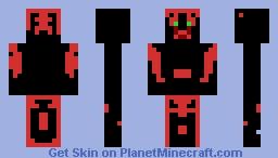 Death prince. Minecraft Skin