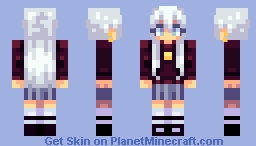 White Hair Minecraft