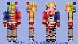 Harley Quinn (Suicide Squad) Minecraft Skin