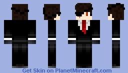 Hitman Jackson Minecraft Skin