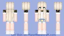 blonde camo girl // by matteh Minecraft Skin