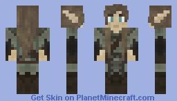 Male Elven Wanderer Minecraft