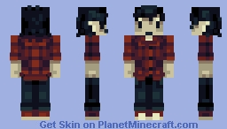 Marshall Lee - PBL Week 1 Minecraft Skin