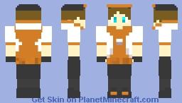 PokeMon GO Trainer Minecraft Skin
