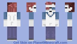 Red head Minecraft Skin