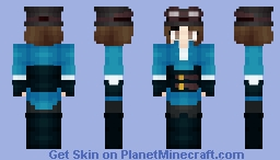 skyguy or chick, probably a chick Minecraft Skin