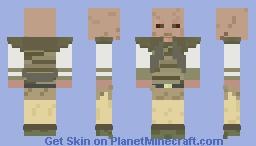 Tatooine Craft: Weequay Guard Minecraft Skin