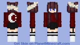 тнєкαωαιισиє~мσσи gιяℓ Minecraft Skin