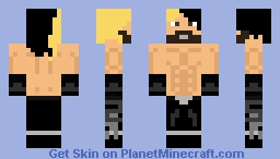 Seth Rollins Minecraft Skin