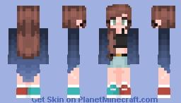 Cinnamon~ Galaqua's contest Minecraft Skin