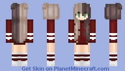 24. thanks for 100 ❤︎ Minecraft Skin