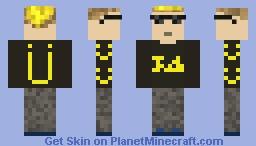 Jack U Getter Minecraft Skin