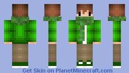 Green Minecraft Skin