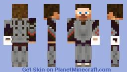 Geared up Steve Minecraft Skin