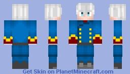 Aldnoah Zero: Slaine Troyard Minecraft Skin