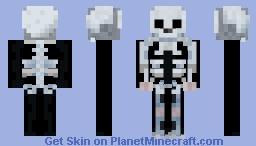 Spookyscaryskeleton Minecraft Skin