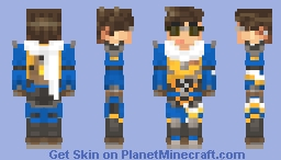 Overwatch - Slipstream Tracer Minecraft Skin